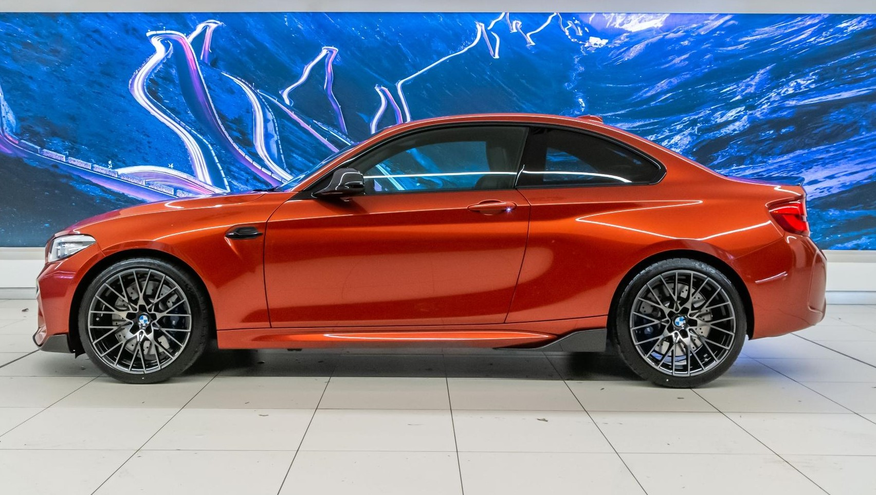 RHD-UK-MY2019 BMW-M2 Sunset-Orange Prestige-Vehicle-Search Ltd