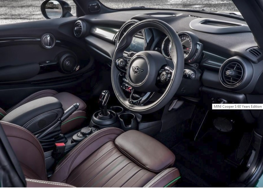 UK-MY2019 Mini-Cooper-S-60th-Anniversary-Edition British-Racing-Green-Cacao-Leather Prestige-Vehicle-Search-Ltd