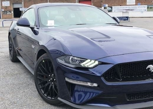 RHD-UK-MY2019 Ford-Mustang-V8-Fastback Kona-Blue-Custom-Pack-2 Prestige-Vehicle-Search-Ltd