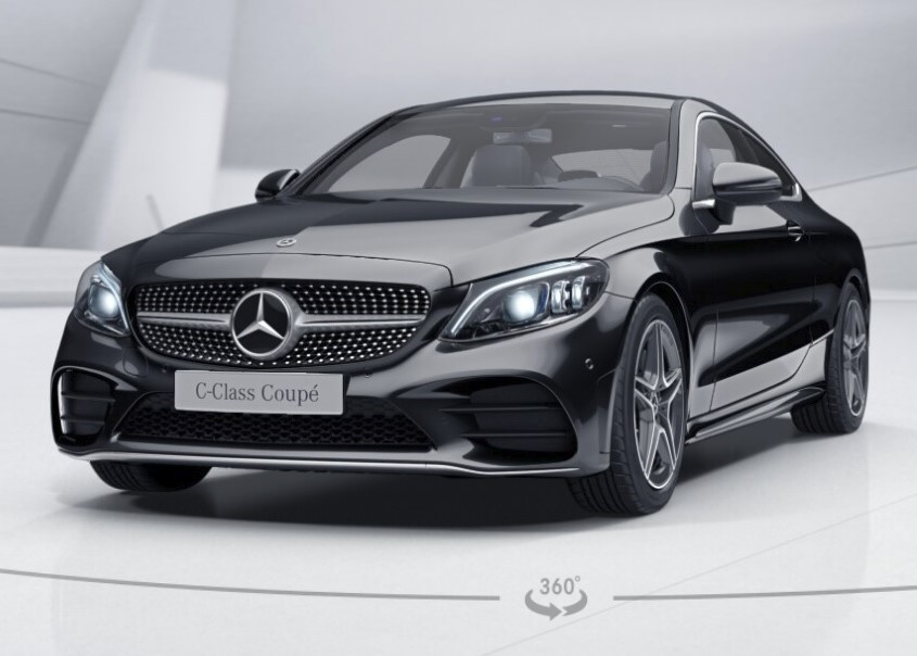 RHD-UK-MY2019 Mercedes-Benz-C-Class-C220-Diesel Obsidian-Black Prestige-Vehicle Search-Ltd