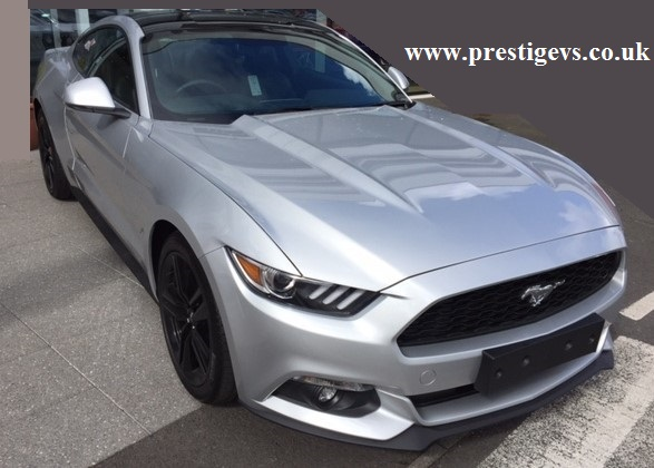 Ford Mustang 2.3 Fastback Automatic Ingot Silver Prestigevs.co.uk