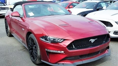 RHD UK MY2018 Ford-Mustang-Convertible Ruby-Red Prestigevs.co.uk