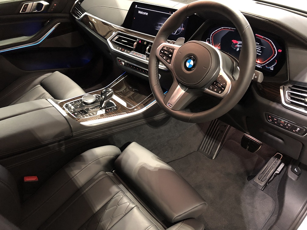 RHD-UK-MY2019 BMW-X5 Sapphire-Black Black-Leather-Piano-Trim Prestige-Vehicle-Search
