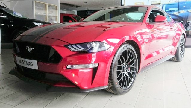 RHD-UK-MY2019 Ford-Mustang-V8-Fastback Ruby-Red Prestige-Vehicle-Search