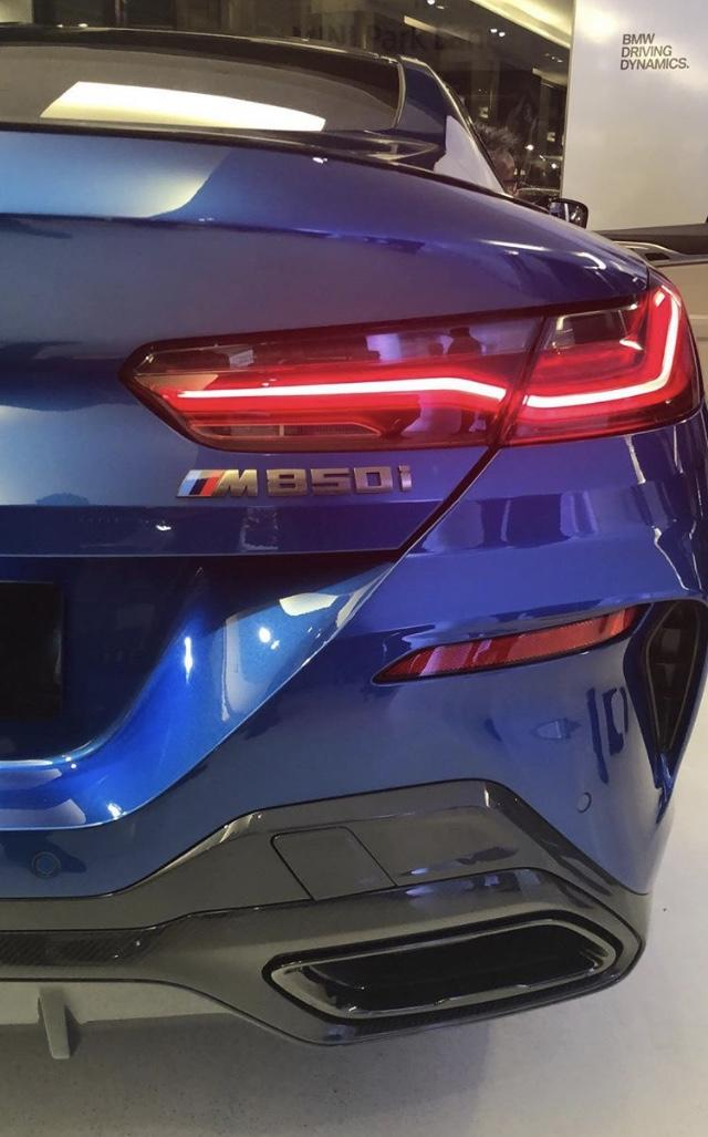 2019-RHD-UK BMW M850i Blue Prestige-Vehicle-Search